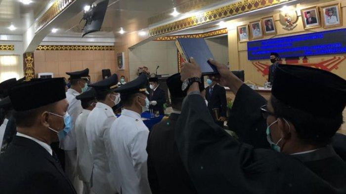 158 Pejabat Eselon Pemkab Lampung Utara Dilantik