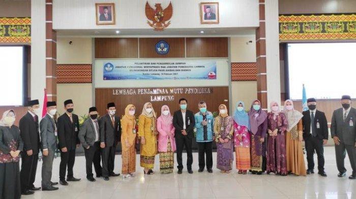 16 Widyaprada LPMP Lampung Dilantik untuk Fokus Mengawal Program Kemendikbud