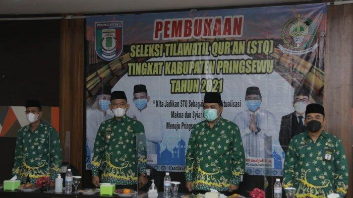 160 Peserta Ikut Seleksi Tilawatil Qur'an 2021 Pemkab Pringsewu