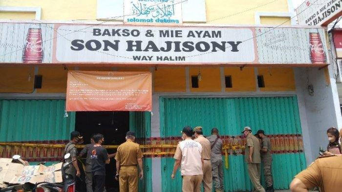 Duduk Perkara Penyegelan 18 Gerai Bakso Sony di Bandar Lampung