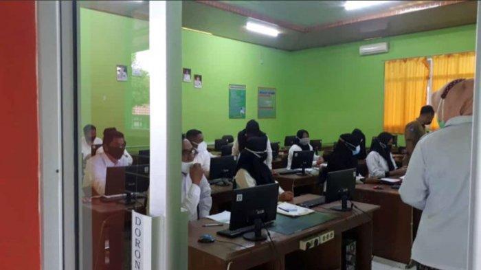 1.990 Peserta Ujian PPPK Guru di Lampung Utara Ikuti Ujian Kompetensi Dasar