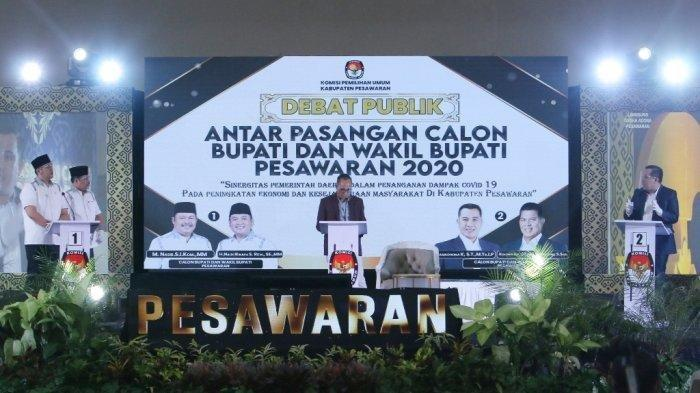 Dendi Ramadhona-Marzuki unggul di Pilkada Pesawaran 2020 Berdasarkan Hasil Pantauan Tim Desk Pilkada