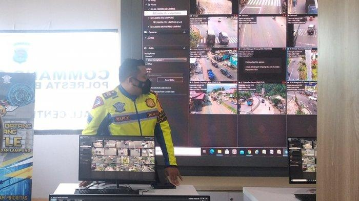 2 Hari Uji Coba ETLE, Satlantas Polresta Bandar Lampung Temukan 7 Pelanggaran Lalu Lintas