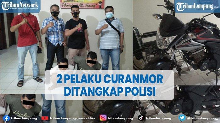 2 Pelaku Curanmor di Way Seputih Lampung Tengah Ditangkap Polisi