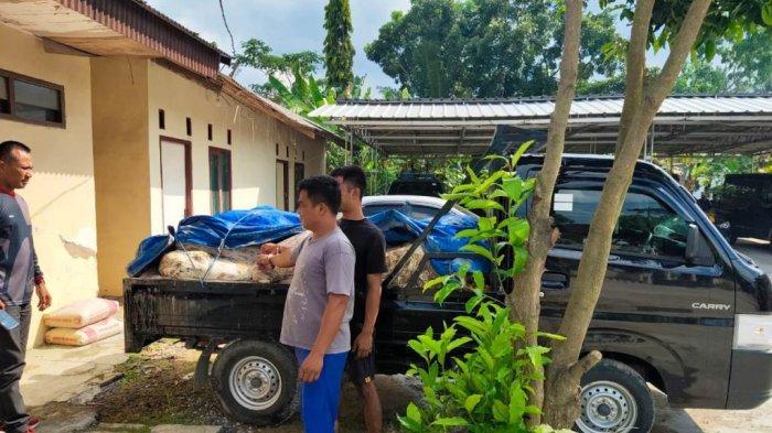 Bawa 1,5 Ton Karet PTPN VII, 2 Pemuda Dibekuk Polsek Tanjung Bintang