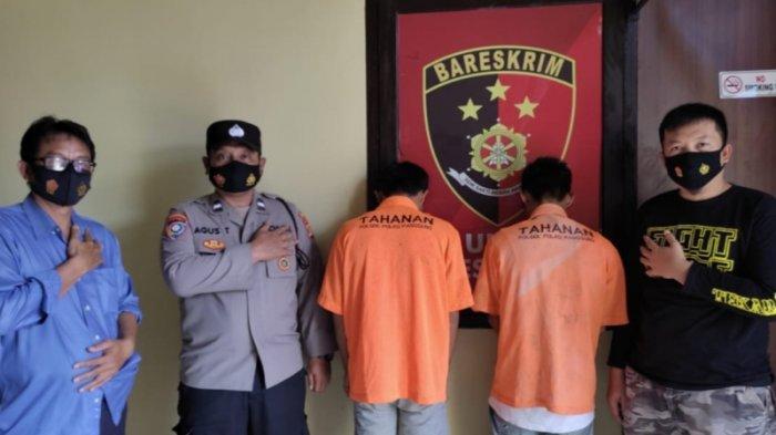 2 Pemuda di Pulau Panggung Bobol Rumah Tetangganya, Curi Ponsel Milik Guru Honorer