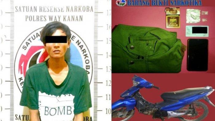 2 Pemuda di Way Kanan Lampung Diamankan Polisi Terkait Narkoba