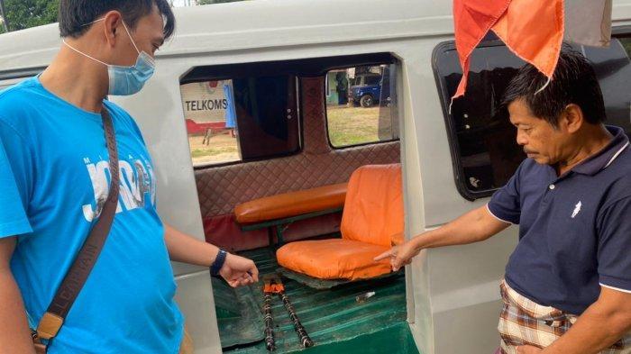 2 Pemuda Diamankan Diduga Hendak Curi Kabel Tembaga di Tower Indosat Pesawaran Lampung