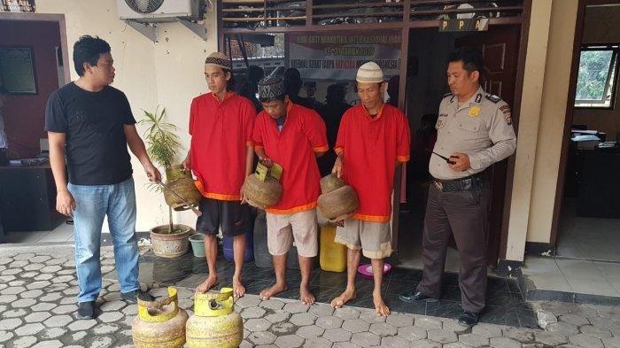 2 Pencuri Tabung Gas Elpiji 3 Kg di Lampung Timur Ditangkap Polisi
