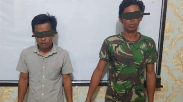 Larang Petani Garap Sawah Sambil Bawa Senpi dan Sajam, 2 Pria di Lampung Tengah Diringkus Polisi