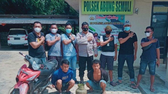 2 Tersangka Pembobol Rumah Kosong di Abung Semuli Diringkus Polisi