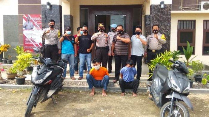 2 Warga Tanggamus Buronan Curas Ditangkap Polsek Pardasuka di Dua Lokasi