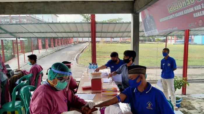 210 Penghuni Lapas Kelas II B Way Kanan Rapid Test Metode Serologi