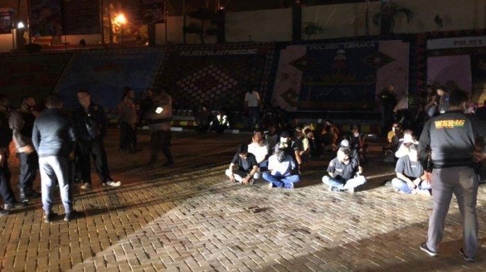 23 Orang Diamankan dari Pembubaran Paksa Hiburan Organ Tunggal di Tanggamus Lampung