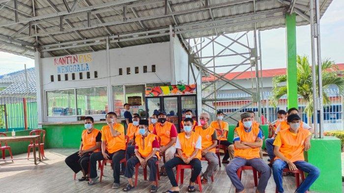 233 Warga Binaan Rutan Menggala Lampung Ikut Vaksinasi Kedua