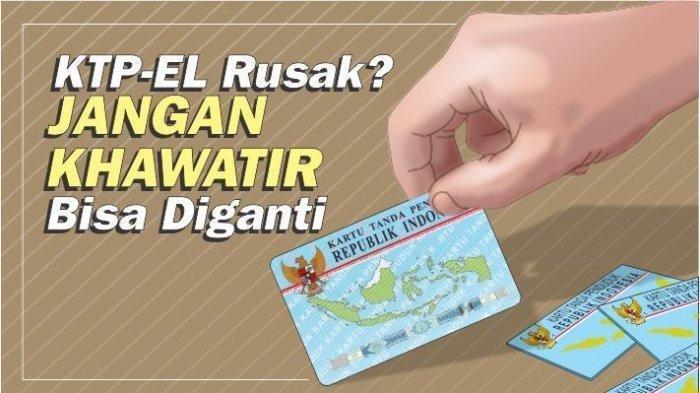 27 Warga Lampung Selatan Ajukan Permohonan Ganti Foto e-KTP di Disdukcapil