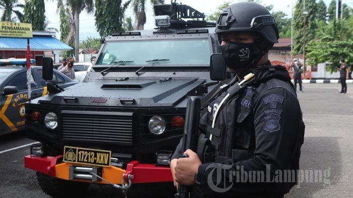 Densus 88 Tangkap Penjual Roti dan Penjual Kain di Lampung, Diduga Terkait Jaringan Teroris