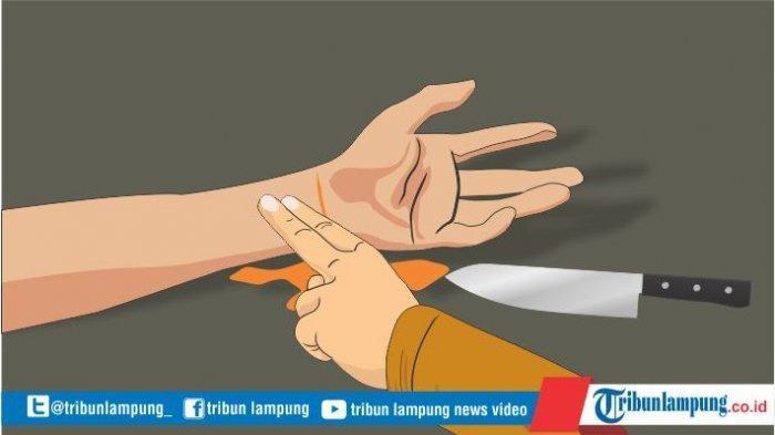 Polres Lampung Tengah Amankan Tersangka Begal, Pelaku Mengaku Berperan Mencegat Korban