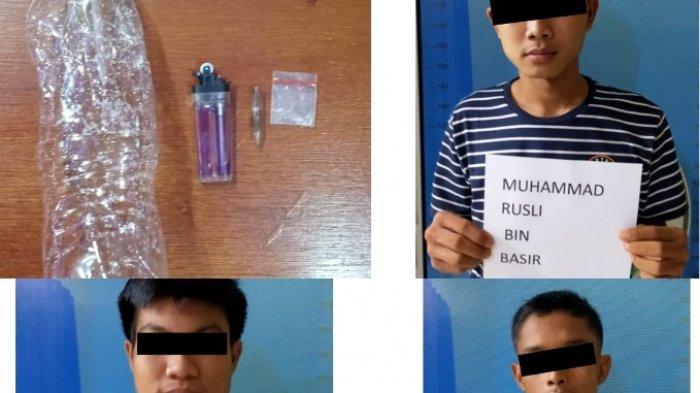 Pesta Sabu Dekat Kolam Ikan di Bumiratu Nuban, 3 Pemuda asal Lampung Timur Diciduk