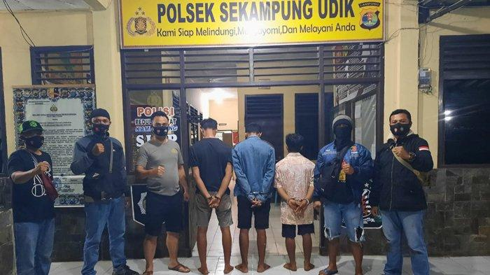 3 Warga Lampung Timur Ditangkap Polisi saat Asik Main Dadu Koprok di Ladang