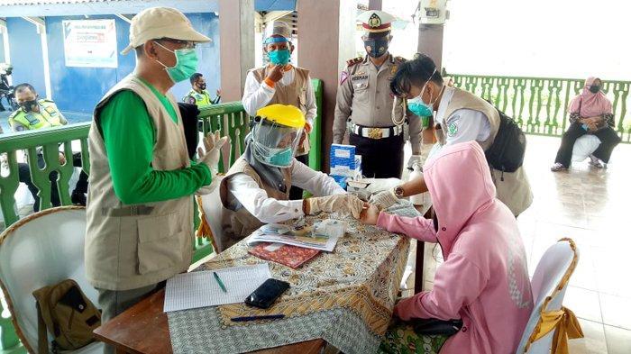 Sopir Truk Logistik ke Jawa Bisa Rapid Test Antigen Gratis di Rest Area Tol Sumatera