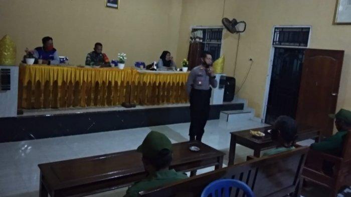30 Petugas Linmas di Lampung Tengah Diberi Pengarahan Pengamanan Jelang Pilkada Serentak 2020