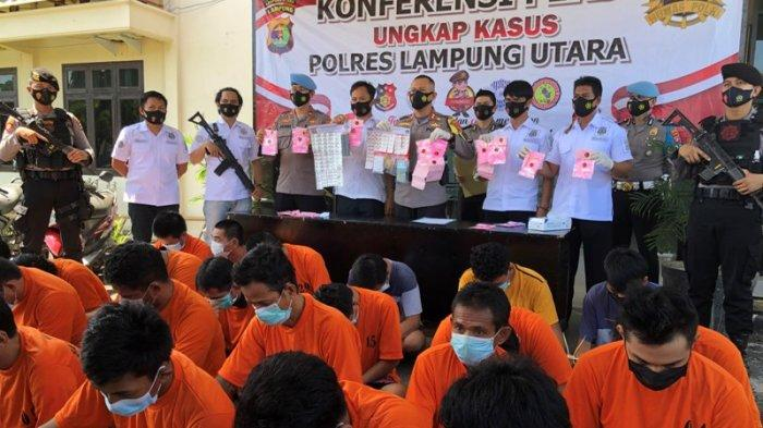 31 Tersangka Narkoba Diamankan Polres Lampung Utara, dari PNS hingga Wiraswasta