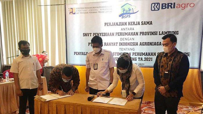 3.470 Warga Lampung Akan Terima Bantuan Stimulan Perumahan Swadaya (BSPS)