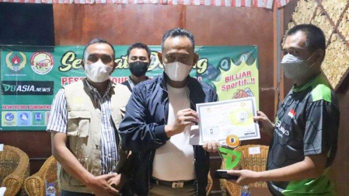 4 Atlet Biliar Bandar Lampung Borong Trofi Turnamen POBSI Pringsewu