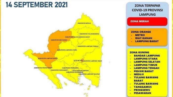 42.160 Pasien Covid-19 di Lampung Sembuh, Hari Ini Bertambah 80 Kasus Baru