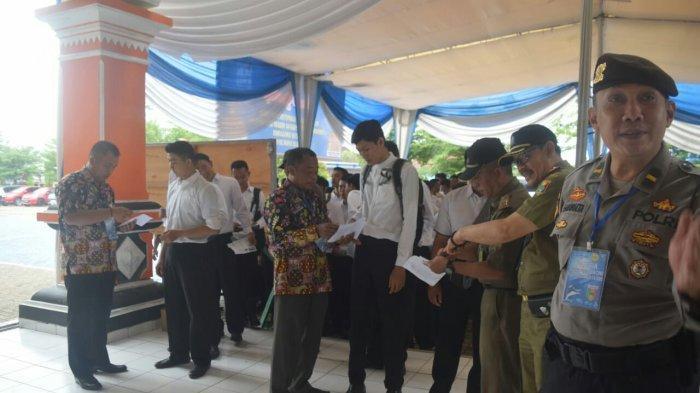 439 Peserta Tak Hadiri Tes SKD CPNS 2019 di Lingkungan Pemkab Tanggamus