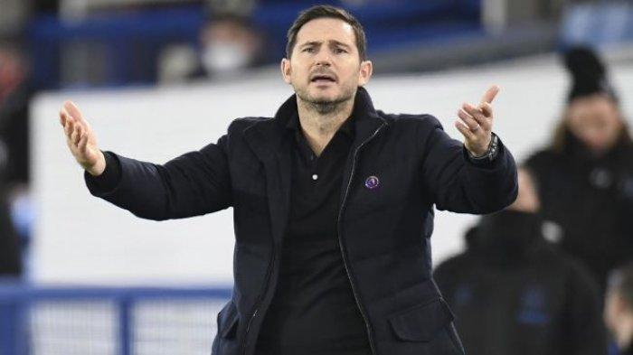 Ilustrasi Frank Lampard.  (POOL/AFP/PETER POWELL)