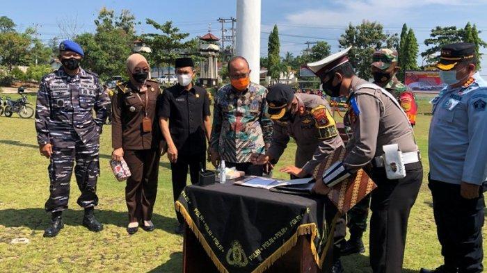 5 Polsek Baru di Lampung Utara Dikukuhkan