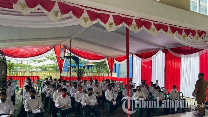 56 Peserta Tes SKD CPNS Lampung di Pringsewu Dinyatakan Gugur karena Tak Hadir