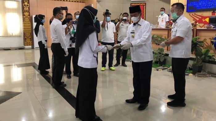 59 CPNS Tahun 2019 di Lampung Utara Terima SK