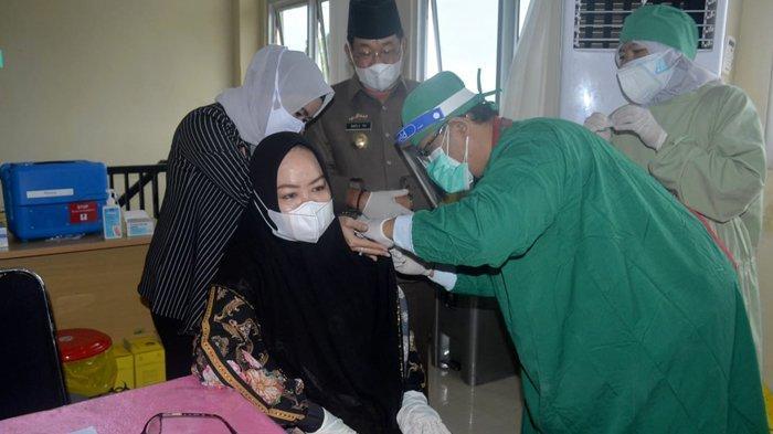 6 dari 10 Pejabat di Mesuji Lolos Vaksinasi Covid-19, 4 Pejabat Tensi Darah Tinggi