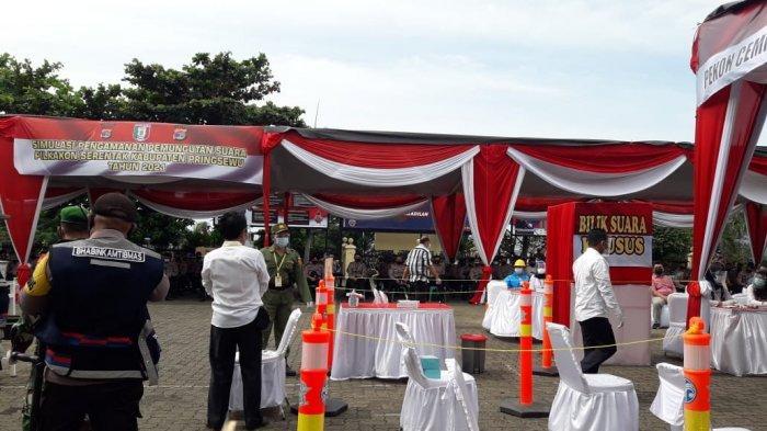785 Personel Polda Lampung Terlibat Pengamanan Pilkakon Pringsewu 2021