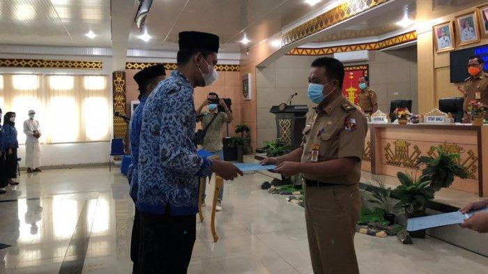 79 CPNS Formasi Tahun 2018 di Lampung Utara Terima SK PNS