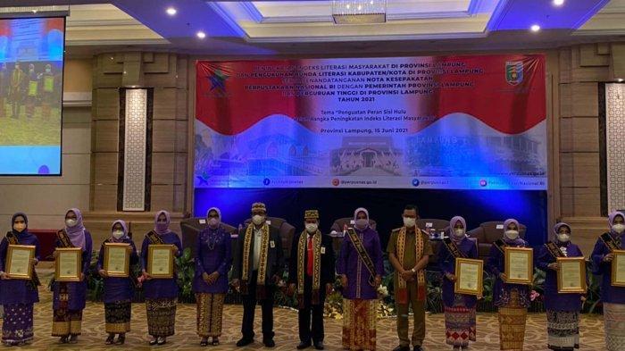8 Bunda Literasi se-Provinsi Lampung Resmi Dikukuhkan