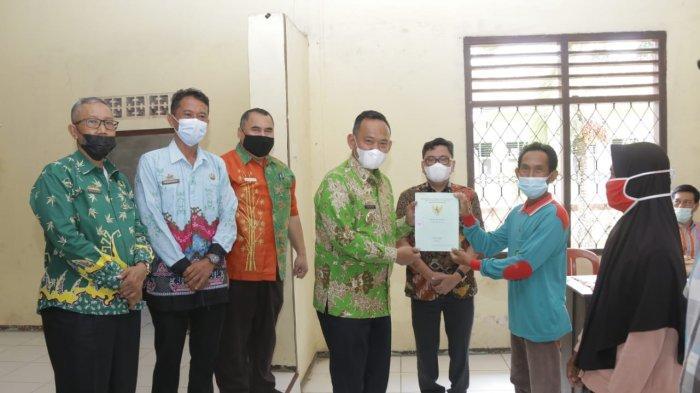 875 Sertifikat Tanah Program PTSL Didistribusikan ke Warga Pringsewu Lampung