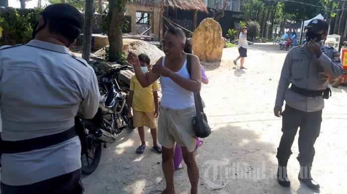 950 Wisatawan di Pantai Pesawaran Kena Operasi Yustisi, Diberi Sanksi Push Up dan Hormat