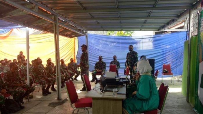 97 Anggota Kodim 0412 Lampung Utara Divaksin Covid-19