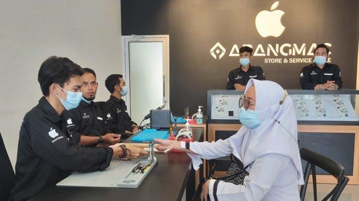 Abangmac Apple Service Store, Tempat Servis Nyaman dan Terpercaya Bagi Pengguna iPhone di Lampung
