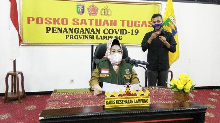 Satgas Covid Lampung Usul 19.592 Nakes Divaksin