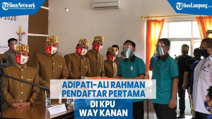 PAN Sejak Awal Usung Raden Adipati Surya-Ali Rahman di Pilkada Way Kanan
