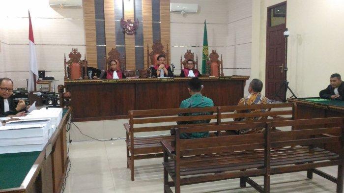 Jelang Sidang Tuntutan, Agus BN dan Anjar Asmara Terlihat Tegang
