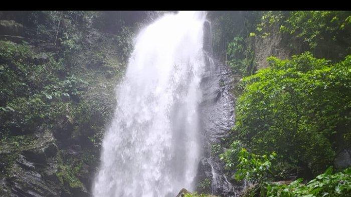 Wisata Lampung,Air Terjun Way Kalam di Lereng Gunung Rajabasa Kalianda