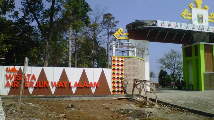 Libur Iduladha, 500-an Pengunjung Sambangi Way Lalaan
