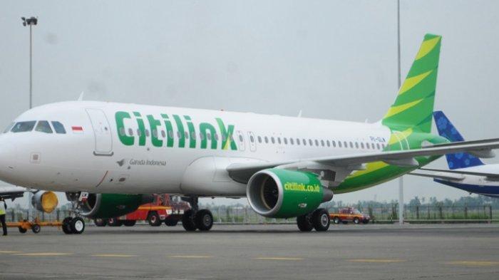 Citilink Buka Suara soal Insiden Penumpang Gelap di Bandara Radin Inten II