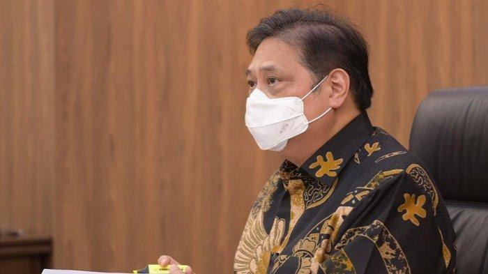 Menko Airlangga : Kasus Covid 19 di Luar Jawa-Bali Turun 9,5 Persen